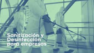 Sanitizacion y desinfeccion covid-19 coronavirus